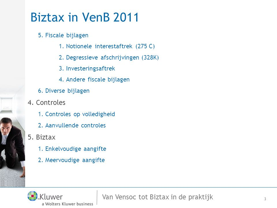 Van Vensoc tot Biztax in de praktijk VenB 2011 Investeringsaftrek (275 U) 24