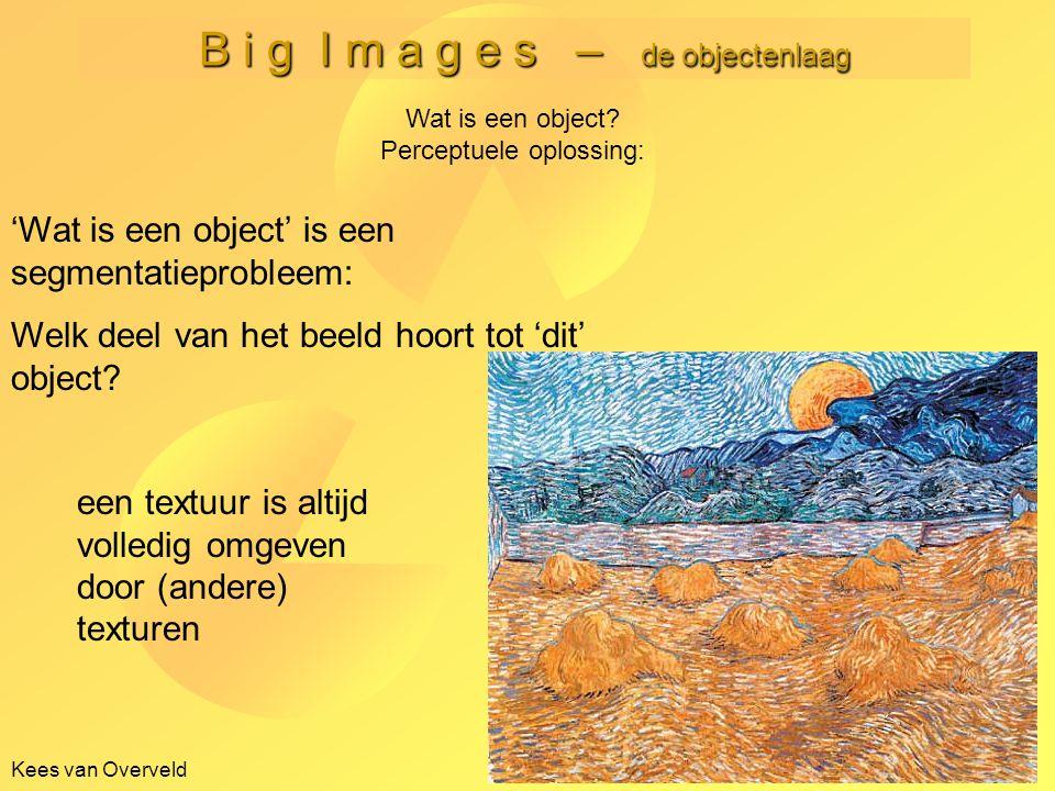 B i g I m a g e s – de objectenlaag Kees van Overveld -21- Wat is een object.