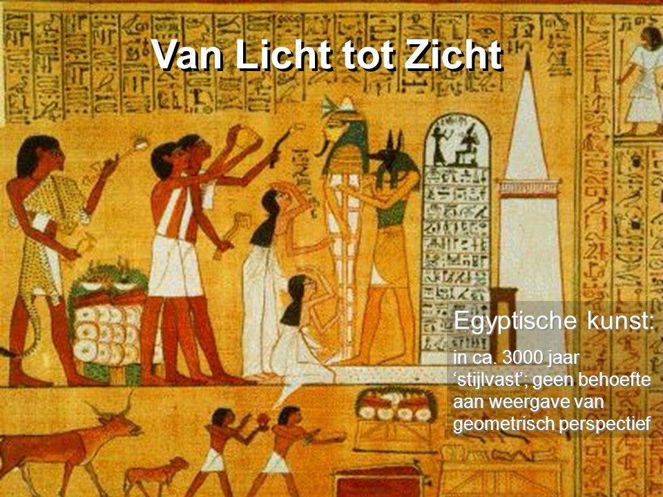 Van Licht tot Zicht Egyptische kunst: in ca.