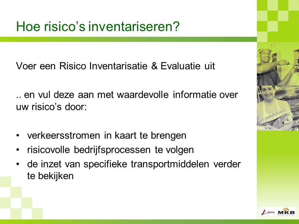 Hoe risico's inventariseren.Voer een Risico Inventarisatie & Evaluatie uit..