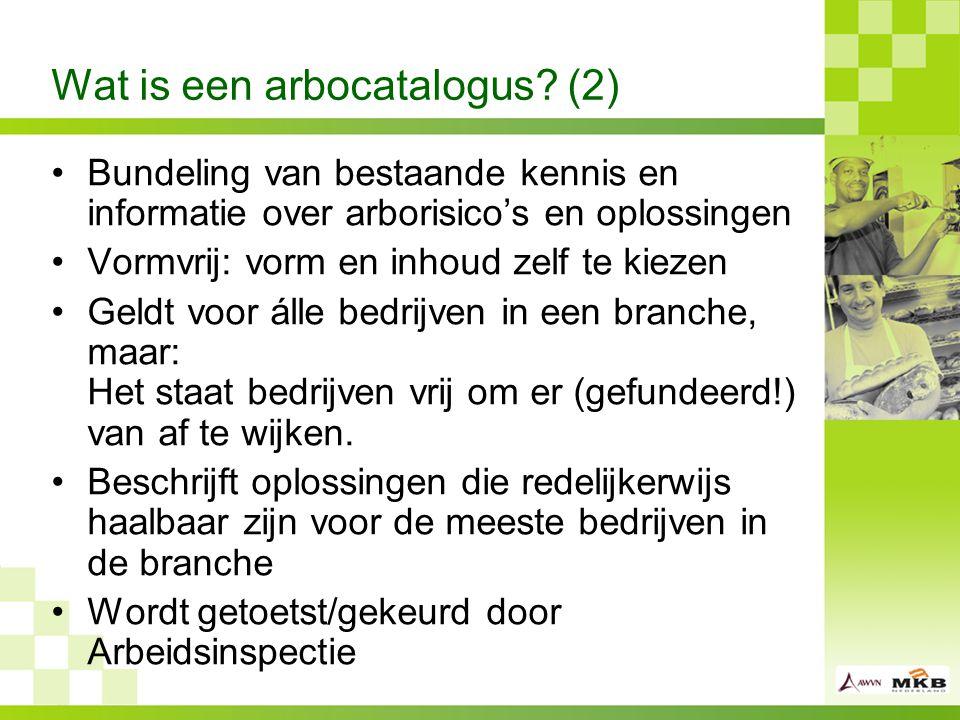Wat is een arbocatalogus.