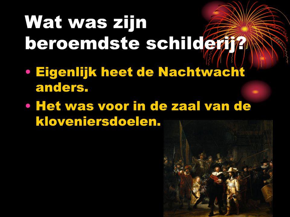 Rembrandts werk
