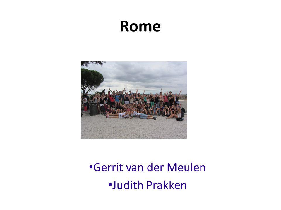 Rome Gerrit van der Meulen Judith Prakken