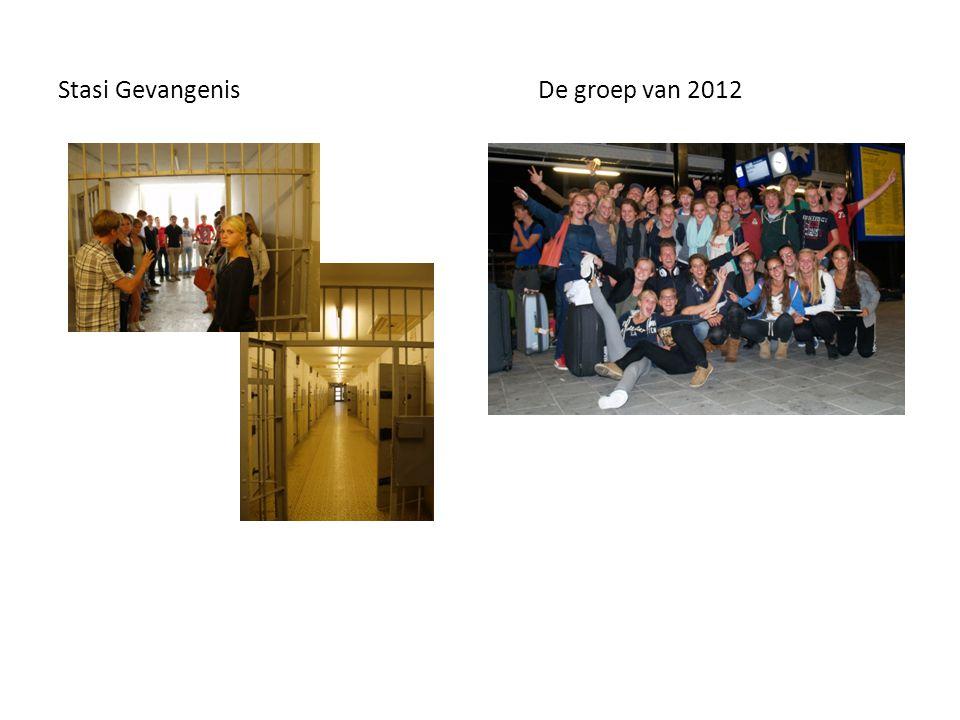 Stasi Gevangenis De groep van 2012