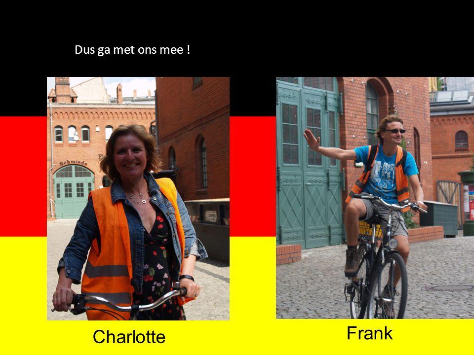 Dus ga met ons mee ! Charlotte Frank