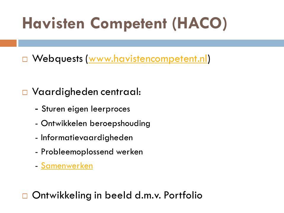 Havisten competent webquest