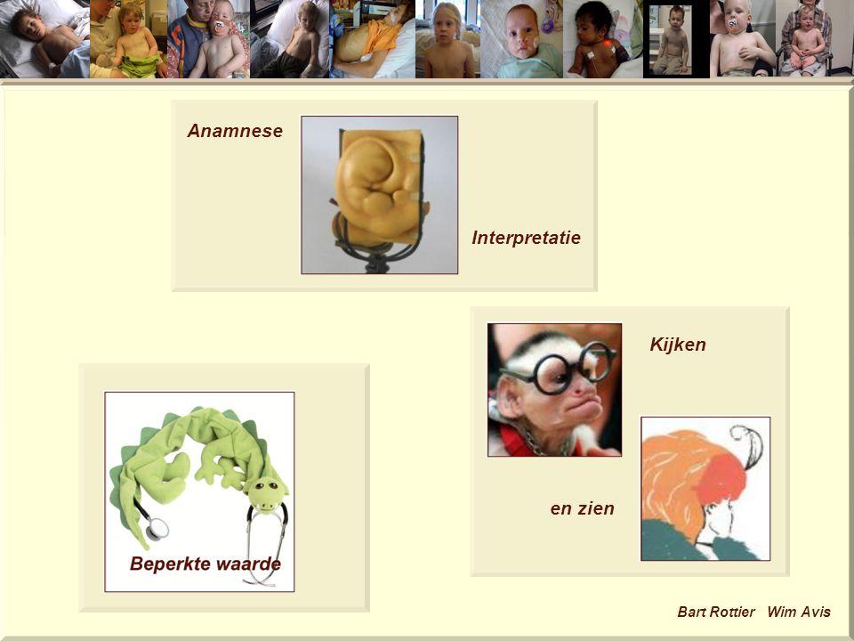 Anamnese Interpretatie Kijken en zien Bart Rottier Wim Avis