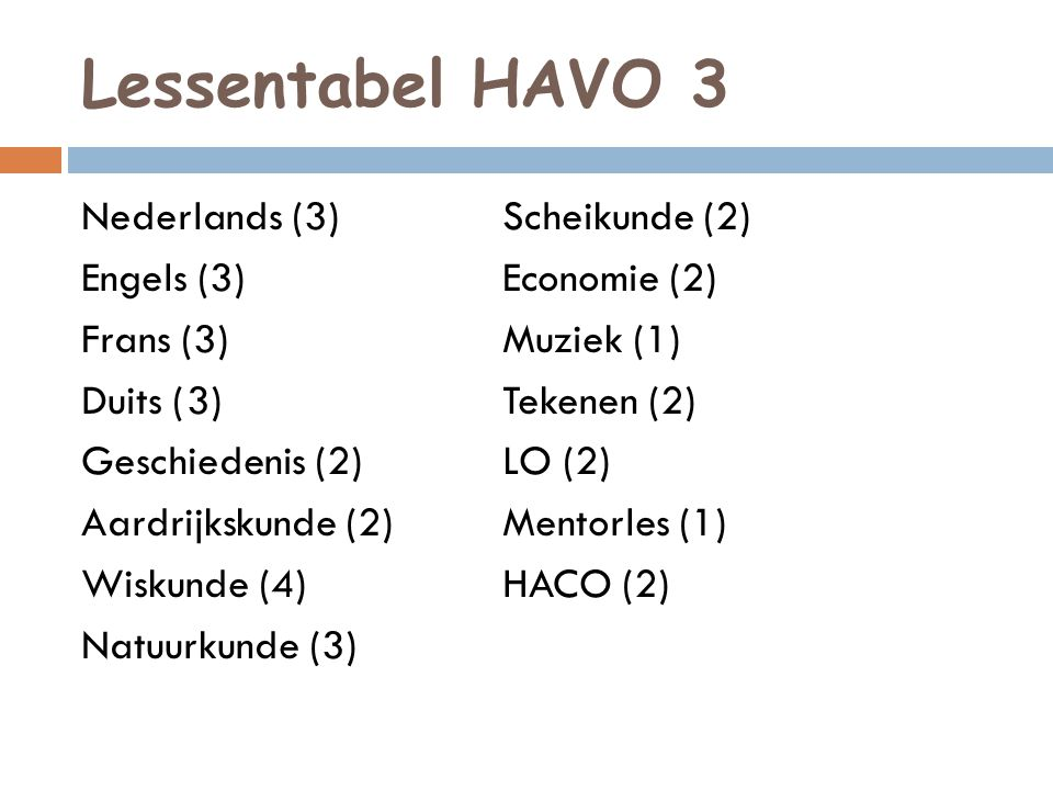 Profielkeuze  Profielen Tweede Fase: CM, EM, NG, NT  Intensieve oriëntatie vanuit HACO  Week 50: Gelder Groep Test  Voorlichtingsavond: 4 februari 2014  Februari: advies vakdocenten  17 maart: keuze vakkenpakket