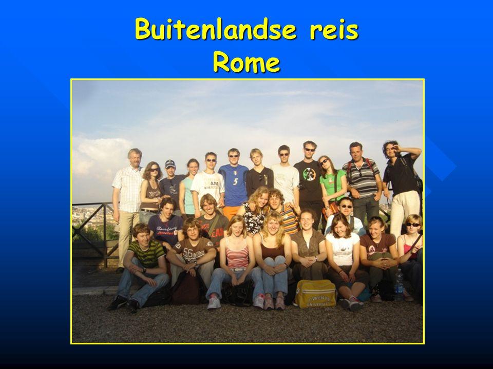 Buitenlandse reis Rome