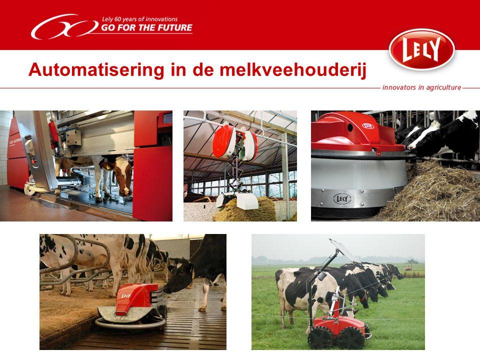 Automatisering in de melkveehouderij