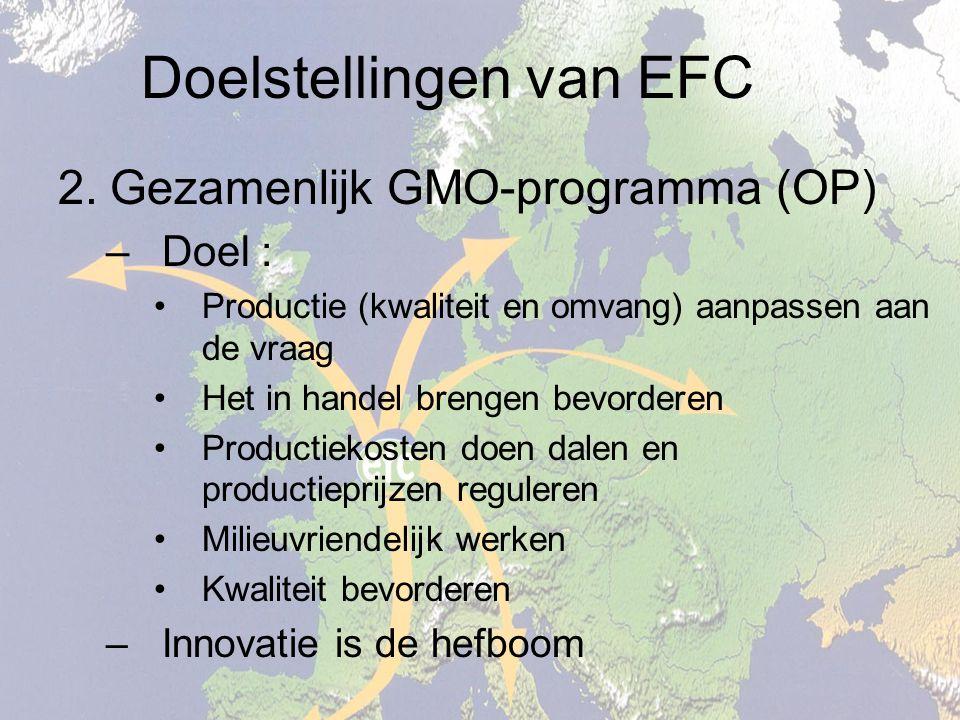 Doelstellingen van EFC 2.