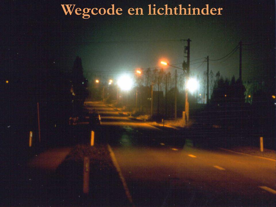 Wegcode en lichthinder