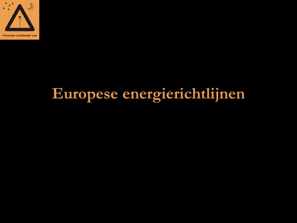 Europese energierichtlijnen