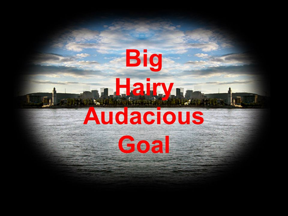 Big Hairy Audacious Goal