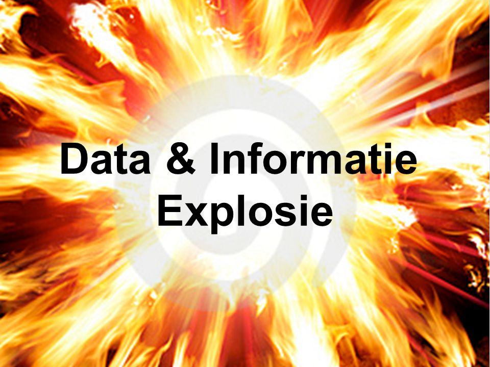 Data & Informatie Explosie