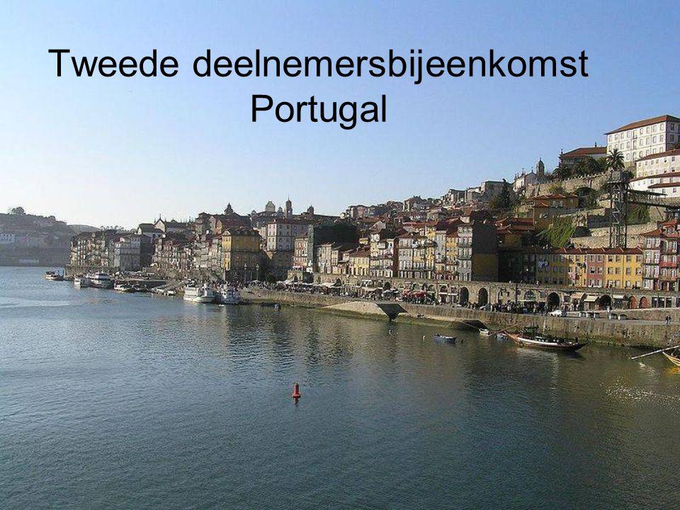 Tweede deelnemersbijeenkomst Portugal
