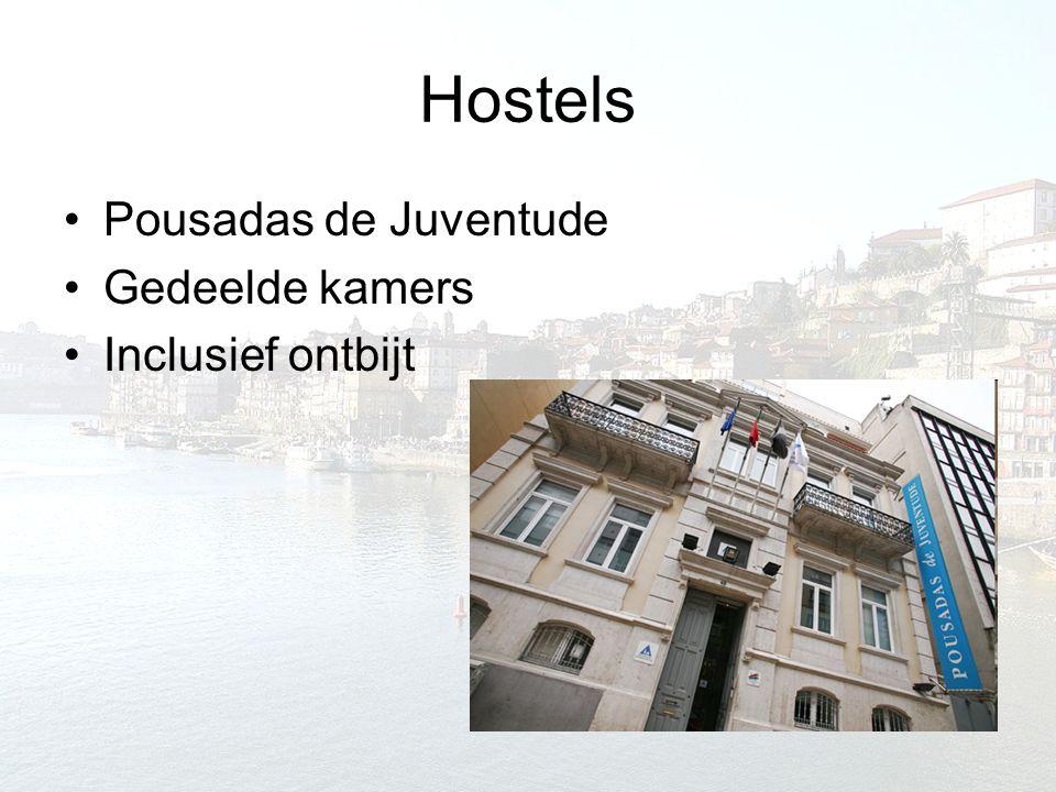 Hostels Pousadas de Juventude Gedeelde kamers Inclusief ontbijt
