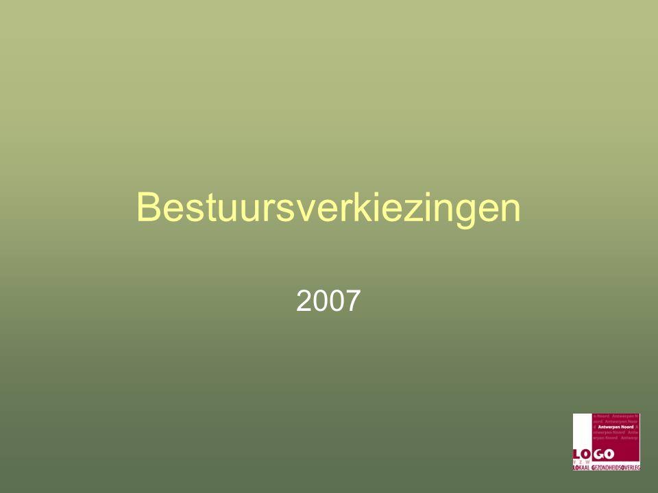 Bestuursverkiezingen 2007