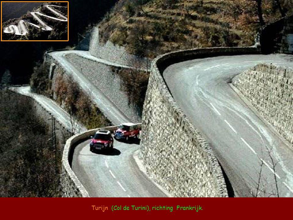 De Stelvio (Stelvio Pass) Italiaanse Alpen.
