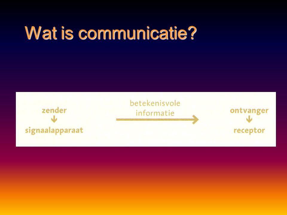 Communicatie tussen organismen