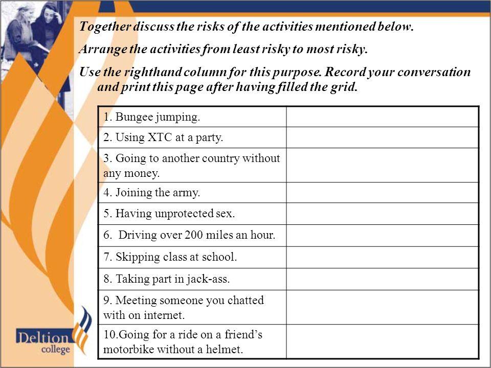 Alternative assignment Click here for an alternative assignment on the same topic.here Klik hier om terug te gaan naar het begin