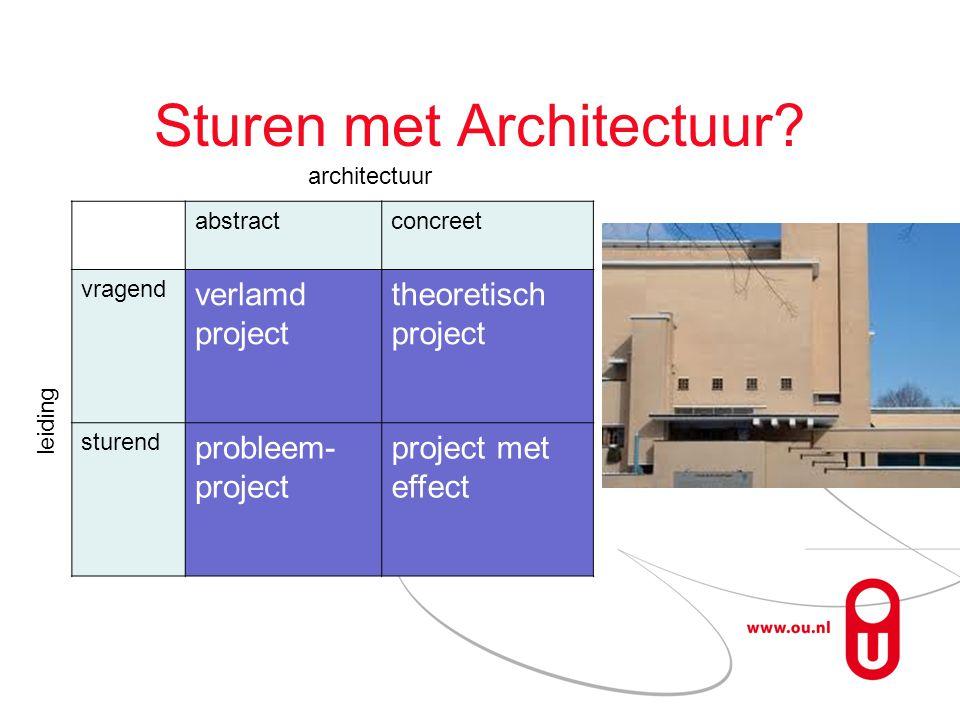 Sturen met Architectuur.