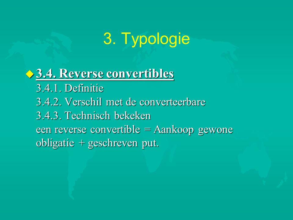 3. Typologie u 3.4. Reverse convertibles 3.4.1. Definitie 3.4.2. Verschil met de converteerbare 3.4.3. Technisch bekeken een reverse convertible = Aan