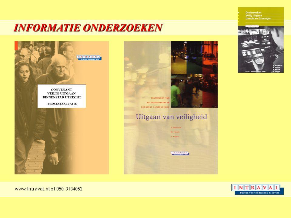 INFORMATIE ONDERZOEKEN www.intraval.nl of 050-3134052
