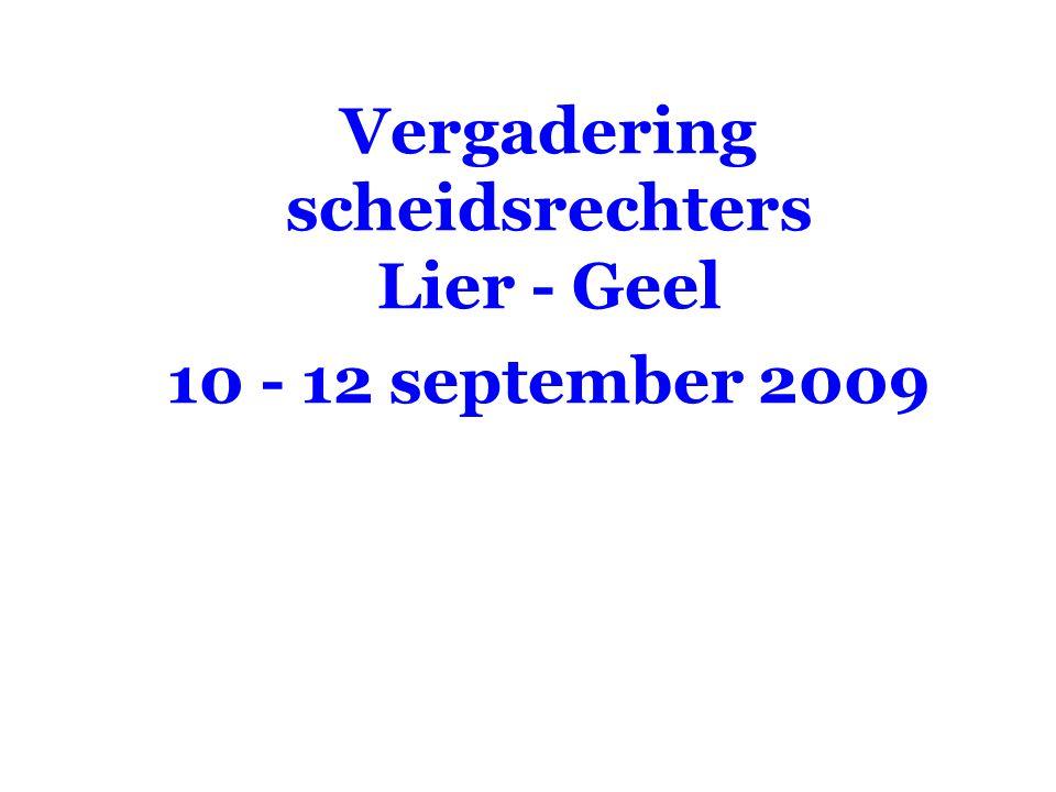 VVB SR commissie - reglementen 2009-2012 2005-20082009-2012 Indringen in het kamp van de tegenstander of bal gaat door de onderste ruimte Wijzen naar de middenlijn.