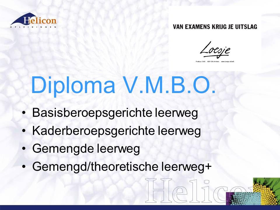 Diploma V.M.B.O.