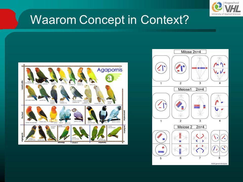 Waarom Concept in Context?