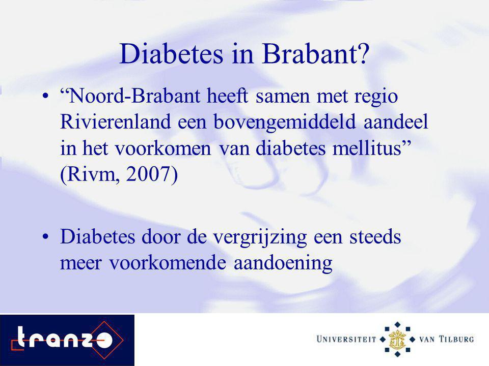 Diabetes in Brabant.