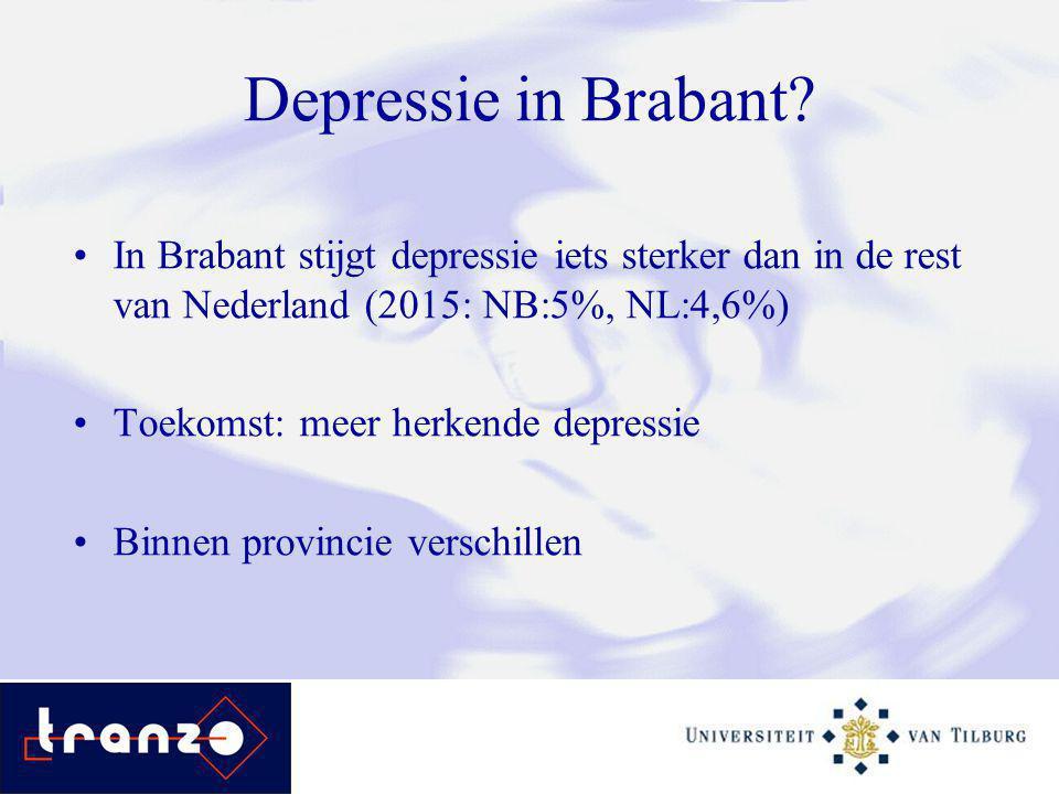 Depressie in Brabant.