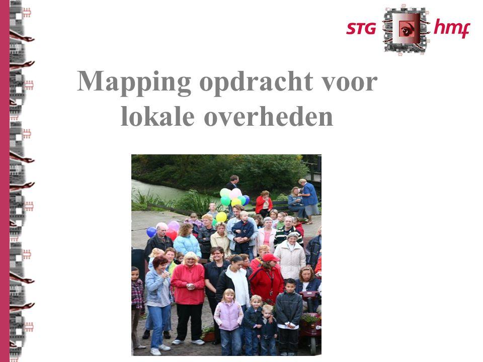 Mapping opdracht voor lokale overheden