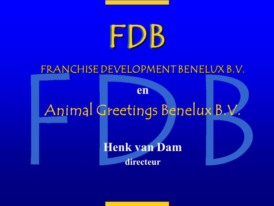 n Franchiseformule in wenskaarten n 18 franchisenemers (in 23 gebieden) in Nederland en Nederlandstalig België n 6 wenskaarten series n ca.