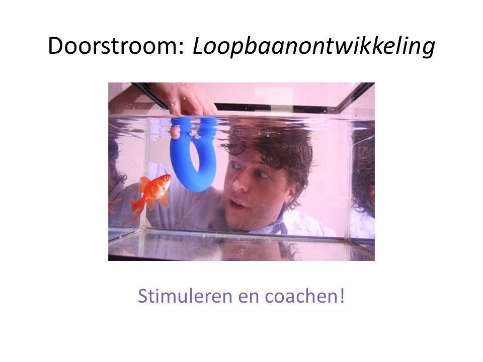 Doorstroom: Loopbaanontwikkeling Stimuleren en coachen!