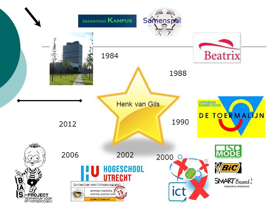Samenspel 1984 1988 1990 2000 20022006 2012 Henk van Gils
