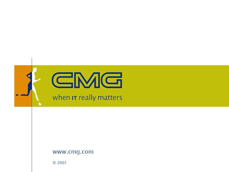 CMG D-Site Marc van der Steen (CMG business unit e-government) Inne ten Have (Dexus new media)