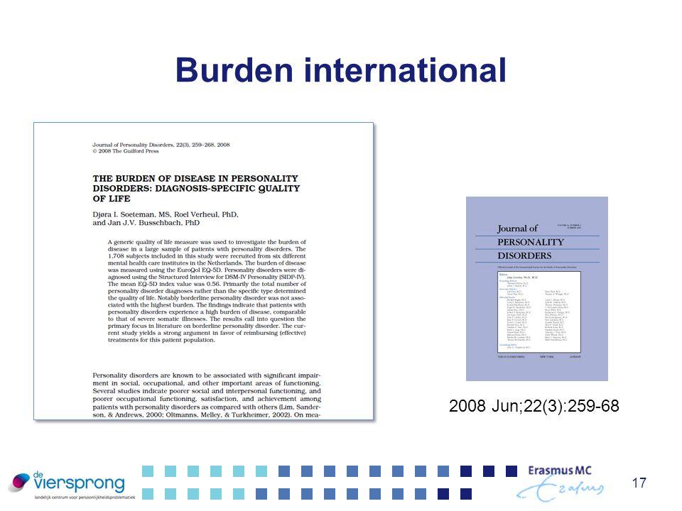 Burden international 17 2008 Jun;22(3):259-68