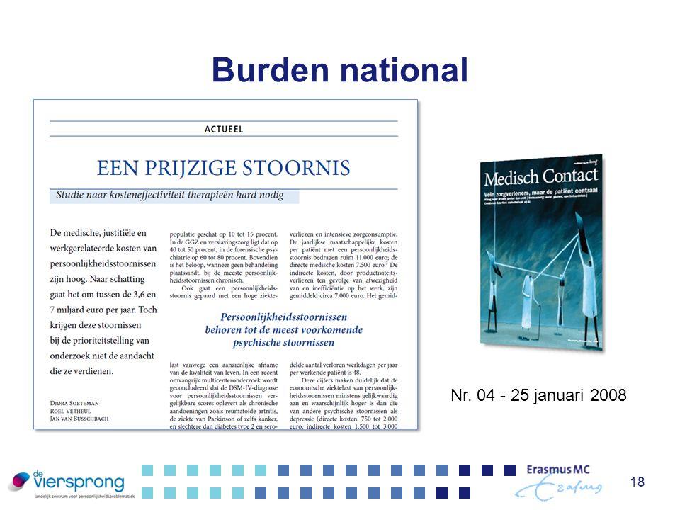 Burden national 18 Nr. 04 - 25 januari 2008