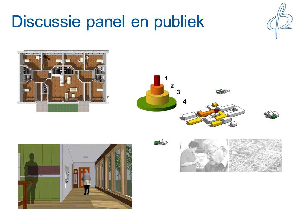 Discussie panel en publiek