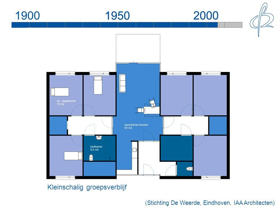 190019502000 1950 2000 Kleinschalig groepsverblijf (Stichting De Weerde, Eindhoven, IAA Architecten)
