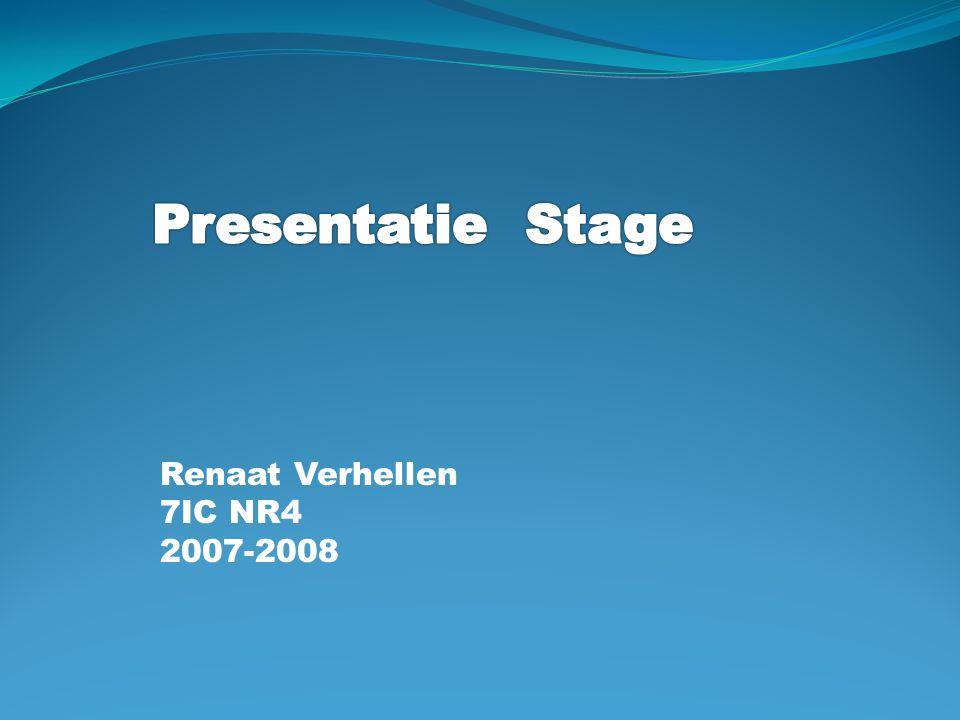 Inhoud Voorstelling Bedrijf Functie in het bedrijf Stage activiteiten Project / opdracht bespreking Besluit