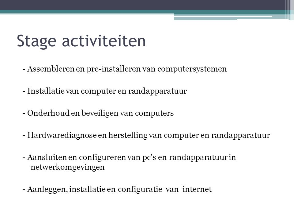 Opdracht bespreking Assembleren Stappenplan 1.Monteer de processor 2.