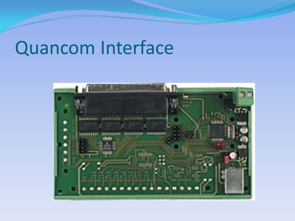 Quancom Interface