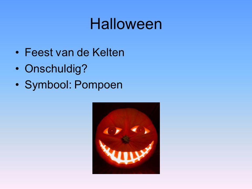 Halloween Feest van de Kelten Onschuldig? Symbool: Pompoen