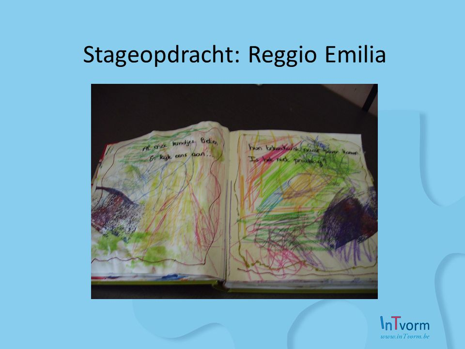 Stageopdracht: Reggio Emilia