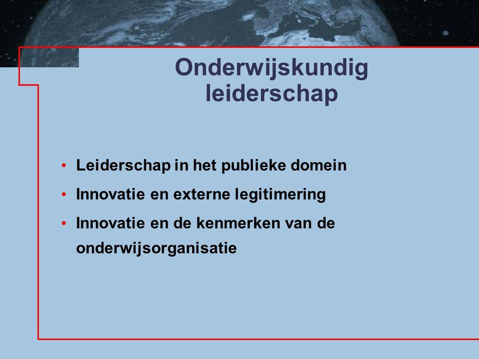 Welke betekenis heeft dit voor uw opvattingen over het leiden van uw organisatie en innovatie.