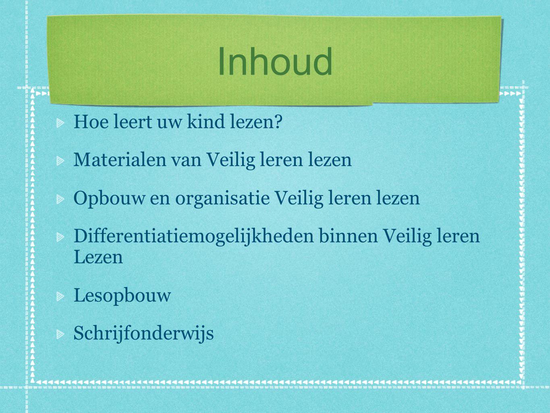 Hoe leert uw kind lezen? http://www.veiliglerenlezen.nl/