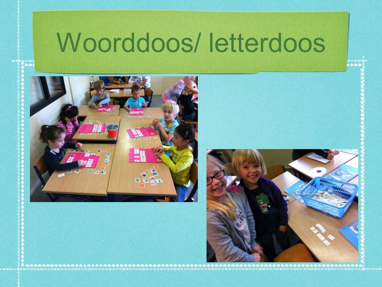Woorddoos/ letterdoos